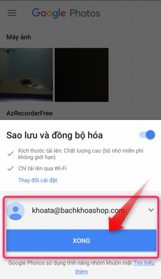 Google Photos - Lưu trữ hình ảnh lên mây không giới hạn dung lượng