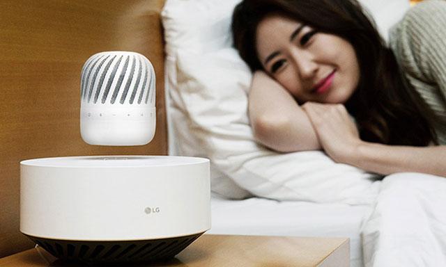 """LG ra mắt loa độc đáo PJ9, vừa """"bay"""" vừa chống nước"""