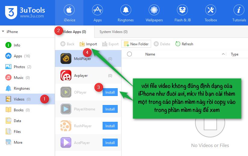 3u Phần mềm quản lý số một cho iPhone, ipad