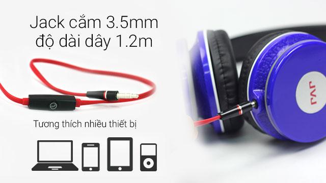 Tai nghe JVJ JH-514M có 4 màu cho bạn lựa chọn