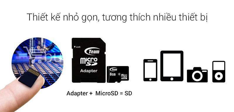 Thẻ nhớ MicroSD Team Class 4 - tương thích nhiều thiết bị